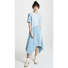 コロボス ドレス ミディドレス  レディース【Colovos Seamed Dress】Light Blue Combo