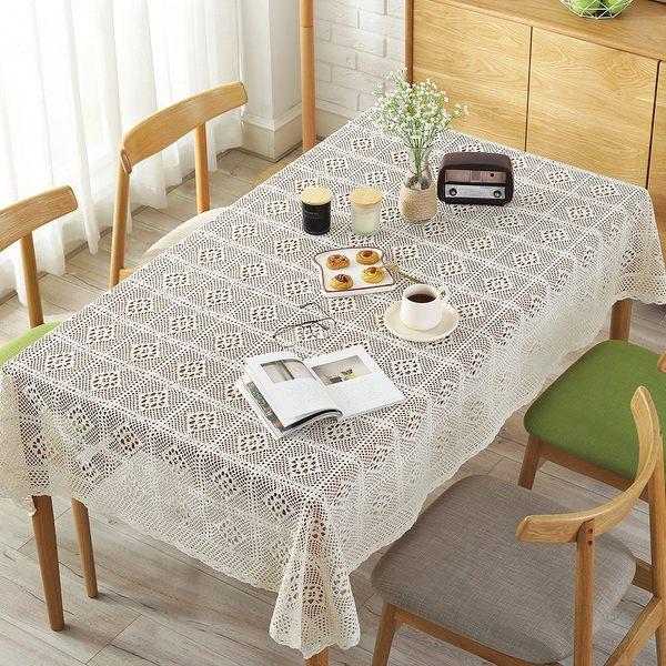 時尚可愛空間餐桌布 茶几布 隔熱墊 鍋墊 杯墊 餐桌巾595 (100*140cm)