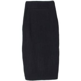 ティティベイト titivate ニットロングタイトスカート (ブラック)