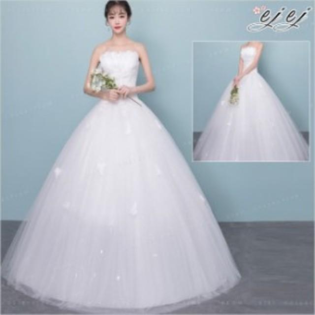77ddad88b7410 お買い得クーポン花嫁ドレス ウェディングドレス 結婚式 ノースリーブ ワンピース レディース 華やかドレス