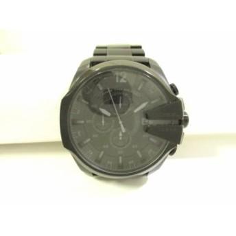 ディーゼル DIESEL 腕時計 メガチーフ DZ-4355 メンズ 黒【中古】
