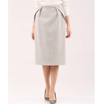 INED / 《セットアップ対応》ヘリンボーン柄スカート