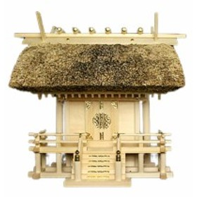神棚 茅葺一社宮 国民神殿(中)〈K-2〉