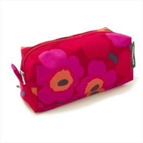 marimekko ポーチ TAIMI MINI UNIKKO COSMETIC BAG 042446 レディース RED/PINK 301 マリメッコ