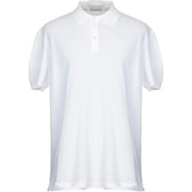 《期間限定 セール開催中》PAOLO PECORA メンズ ポロシャツ ホワイト S コットン 100%