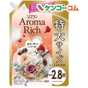 (企画品)ソフラン アロマリッチ フローラルキャンドルアロマの香り 詰替 特大 ( 1210mL )/ ソフラン