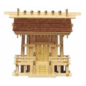神棚 桧皮葺一社宮 正殿型〈H-3〉