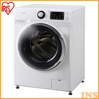 (設置無料商品)洗濯機 一人暮らし 7kg ドラム式 新品 本体 アイリスオーヤマ 7.5kg ドラム式洗濯機 ドラム洗濯機 FL71-W/W【代引き不可】