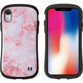 [iPhone XR専用]iFace First Class Marbleケース(ピンク) 41-899229