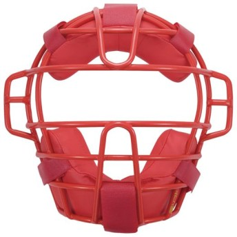MIZUNO SHOP [ミズノ公式オンラインショップ] ソフトボール用マスク 62 レッド 1DJQS120