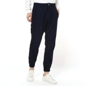 パンツ メンズ ズボン メンズ大人の快適ジョガーパンツ[日本製] 「ネイビー」