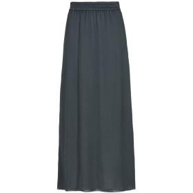《期間限定セール開催中!》EMPORIO ARMANI レディース ロングスカート 鉛色 40 シルク 100%