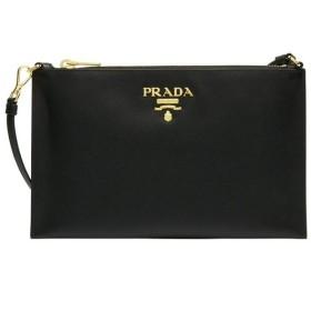 PRADA プラダ LEATHER CLUTCH BAG レディース 1NH004