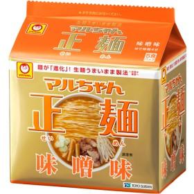 マルちゃん正麺 味噌味 (108g5食入)