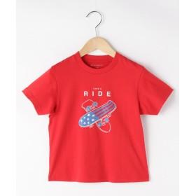 THE SHOP TK(Kids)(ザ ショップ ティーケー(キッズ)) 【100cm~150cm】ワードグラフィックTシャツ