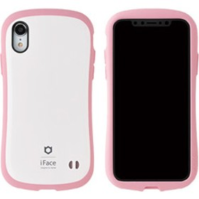 [iPhone XR専用]iFace First Class Pastelケース(ホワイト/ピンク) 41-899106