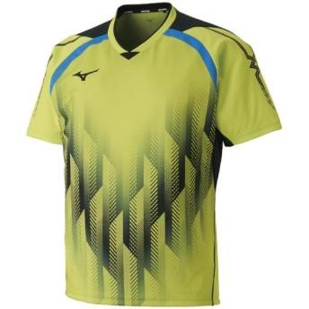 MIZUNO SHOP [ミズノ公式オンラインショップ] ゲームシャツ(卓球)[ユニセックス] 37 ライムグリーン 82JA8501
