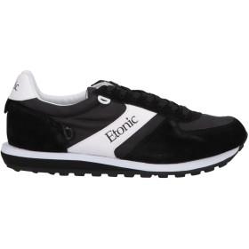 《期間限定 セール開催中》ETONIC メンズ スニーカー&テニスシューズ(ローカット) ブラック 39 革 / 紡績繊維
