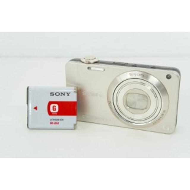 【中古】【特価】SONYソニー コンパクトデジタルカメラ Cyber-shotサイバーショット 1620万画素 DSC-WX10 ゴールド 光学7倍