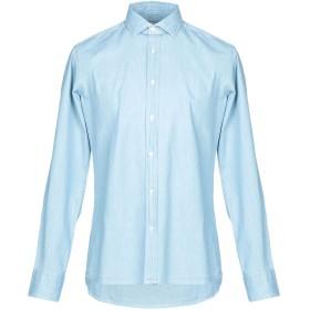 《セール開催中》R3D W D メンズ デニムシャツ ブルー M コットン 100%
