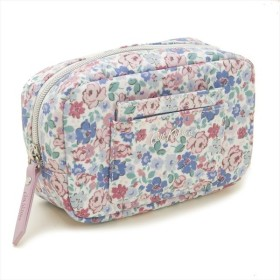 Cath Kidston ポーチ Oval Make Up Bag with Mirror 786157 レディース Mews Ditsy Off White ホワイトマルチ柄