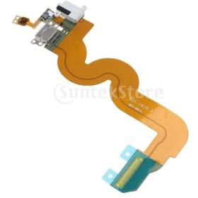 修理用 充電 ポート フレックス ケーブル Apple iPod Touch 5th 適用 白色