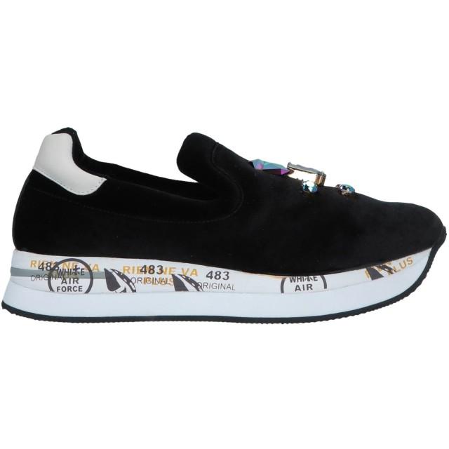 《期間限定セール開催中!》PREMIATA レディース スニーカー&テニスシューズ(ローカット) ブラック 35 紡績繊維