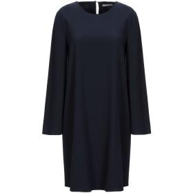 《セール開催中》HOPE COLLECTION レディース ミニワンピース&ドレス ダークブルー L ポリエステル 100%