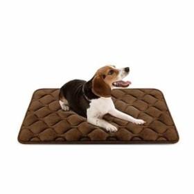779b4f9ed0ad Hero Dog ペットマット 犬 ペットベッド クッション ケージ用敷物 防寒 滑り止め 洗える 肌触り