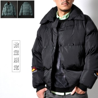 ジャケット・ブルゾン - RAiseNsE 中綿ラップブルゾン メンズ アウター ジャケット ジャンパー[2色]#T952