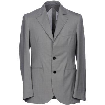 《期間限定セール開催中!》HEV メンズ テーラードジャケット 鉛色 50 ウール 100%
