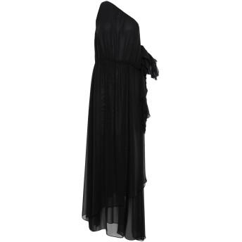 《9/20まで! 限定セール開催中》HANITA レディース ロングワンピース&ドレス ブラック M ポリエステル 100%