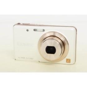 【中古】Panasonicパナソニック コンパクトデジタルカメラ LUMIXルミックス 1210万画素 DMC-FX80-W