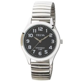 TELVA 伸縮バンドモデル [メンズ腕時計 /電池式] TE-AM149-BKS