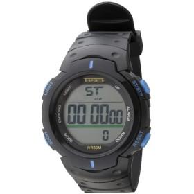 TELVA デジタルウォッチ ウレタンバンドモデル [メンズ腕時計 /電池式] TS-D153-BL