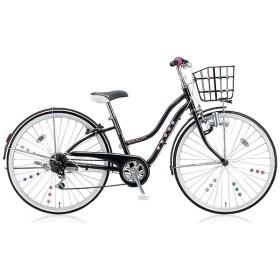 24型 子供用自転車 ワイルドベリー(ブラックパンサー/6段変速) WB466