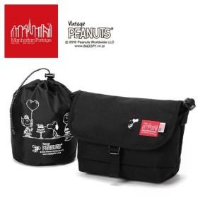 【限定モデル】【ピーナッツ スヌーピーコラボ】マンハッタンポーテージ ManhattanPortage × PEANUTS Casual Messenger Bag S MP1605JRSPEANUTS18