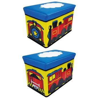 在庫限り ストレージボックス スツール キカンシャ おもちゃ箱 収納ボックス