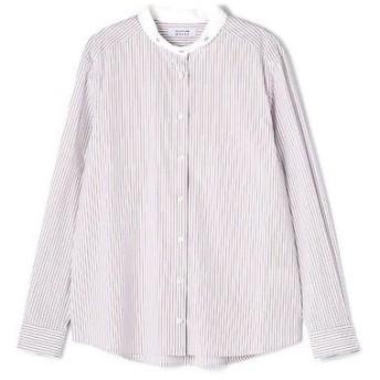 HUMAN WOMAN / ヒューマンウーマン ストライプベーシックシャツ