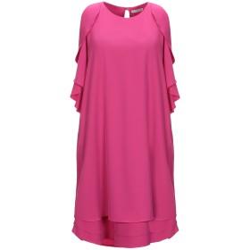 《送料無料》HOPE COLLECTION レディース ミニワンピース&ドレス フューシャ M ポリエステル 95% / ポリウレタン 5%