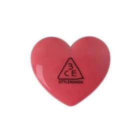 国内発送3CE HEART POT LIP ハートポットリップバーム (WOODY ROSE)