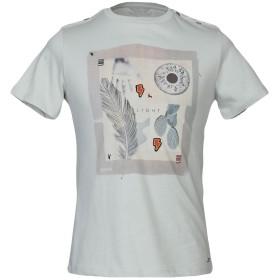 《期間限定セール開催中!》SSEINSE メンズ T シャツ ライトグレー S 100% コットン