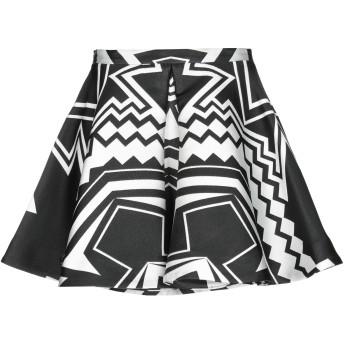 《セール開催中》PHILIPP PLEIN レディース ミニスカート ブラック S ポリエステル 100%