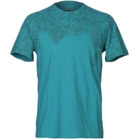《期間限定 セール開催中》HERITAGE メンズ T シャツ ターコイズブルー M コットン 100%