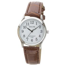 TELVA 皮バンドモデル [メンズ腕時計 /電池式] TE-AM147-BRS