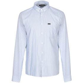 《期間限定セール開催中!》LEE メンズ シャツ アジュールブルー S コットン 100%