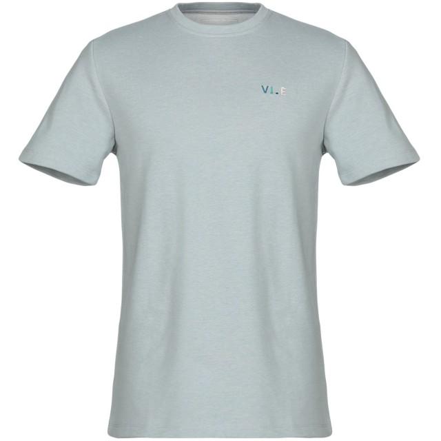 《期間限定 セール開催中》VI.E SIX EDGES メンズ スウェットシャツ ライトグレー S コットン 60% / ポリエステル 40%