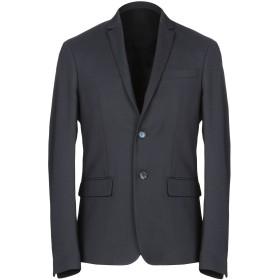 《セール開催中》PATRIZIA PEPE メンズ テーラードジャケット ダークブルー 46 ポリエステル 60% / ウール 38% / ポリウレタン 2%