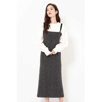 ROSE BUD / ローズ バッド ネップ4wayスカート