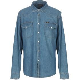 《セール開催中》LEE メンズ デニムシャツ ブルー M コットン 100%